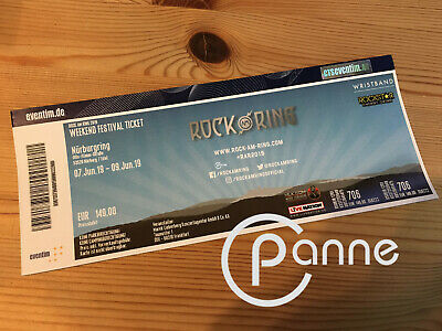 ROCK AM RING 2019 - Nürburgring - Die Ärzte / Tool Weekend Festival Ticket