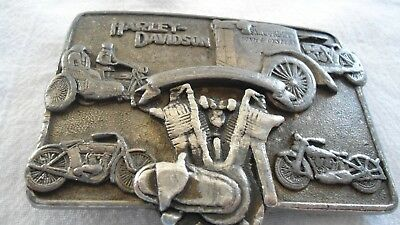 1983 Official Harley-Davidson *1909 First V-Twin* Collector Buckle