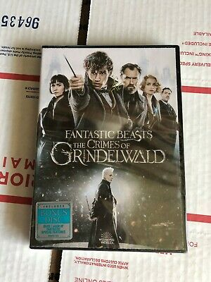 Fantastic Beasts The Crimes of Grindelwald (DVD) 2018 Movie Brand New