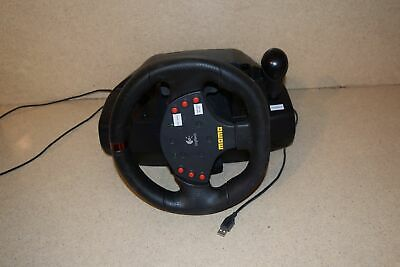 ^^ Logitech Momo Racing Force E-Uh9 Steering Wheel W/ Pedals (Aa)