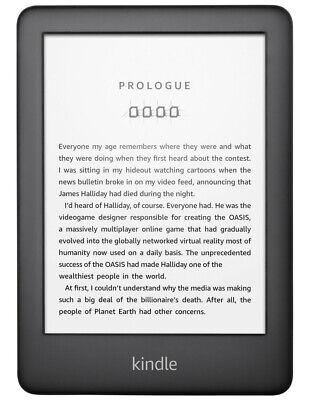 NEW Kindle eReader (2019) Anti-glare Display Reads Like Paper Wi-Fi