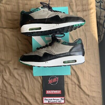 finest selection e696e 81b89 Nike Air Max 1 Premium LCD Pack Charcoal Green Size 8.5 309717-003 2007