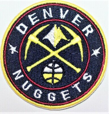 NBA Denver Nuggets Basketball Embroidered patch. - Iron-on - FREE SHIPPING