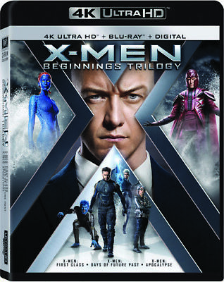 X-men Beginnings Trilogy [New 4K Ultra HD] 4K Mastering, Digital Theater Syste