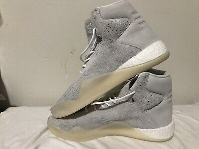 online retailer 619ba b34bf *NEW* Adidas Originals Tubular Instinct Boost Shoes Sneakers Leather Gray  BB8947