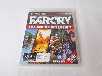 Mint Disc Playstation 3 Ps3 Farcry The Wild Expedition Far cry Free Postage