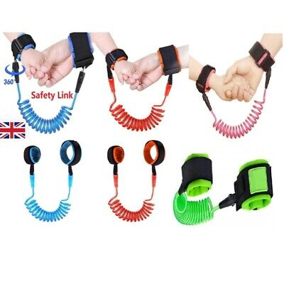 Safety Anti-lost Strap Toddler Kid Baby Link Harness Child Wrist Band Belt Reins