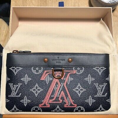 0c421aafa199 AUTHENTIC LOUIS VUITTON Upside Down Apollo Pochette PM Clutch by KIM ...