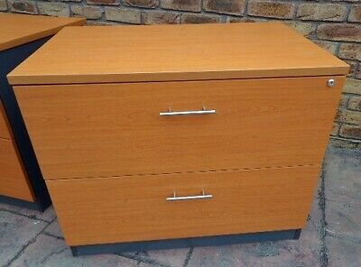 Beech Color Lateral Filing Cabinet or Storage Cabinet