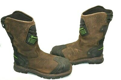 Ariat Men's Catalyst VX WATERPROOF Composite SQUARE Toe Work Boots Size 9 D USED