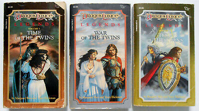 Dragon Lance LEGENDS TRILOGY all 3 books by Margaret Weis & Tracy Hickman 1sts