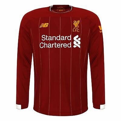 Liverpool FC Home Kit Red Long Sleeve Mens Football Shirt 2019/2020 LFC Official