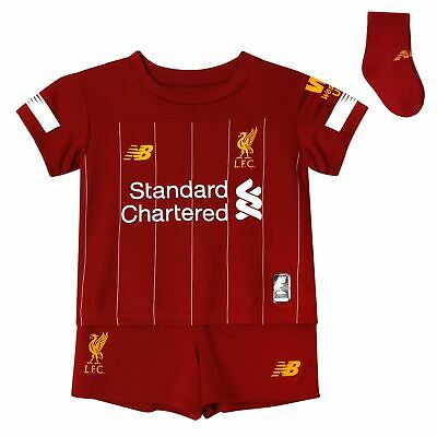 Liverpool FC Home Kit Red Baby Boys Soccer Kit 2019/2020  LFC Official