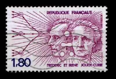 Atomphysiker Frederic, Irene  Joliot-Curie. 1W.Gest. Frankreich 1982