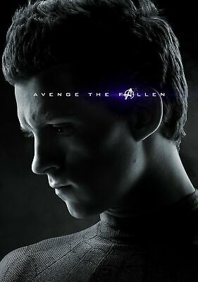 AVENGERS TOM HOLLAND Poster Print A5..A4...or A3 option 260gsm