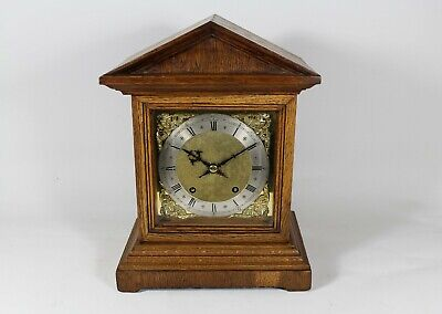W&H Oak cased Bracket Clock Excellent condition (Fully serviced)