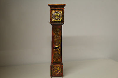 DOLL HOUSE  Ornately Carved Grandfather Clock