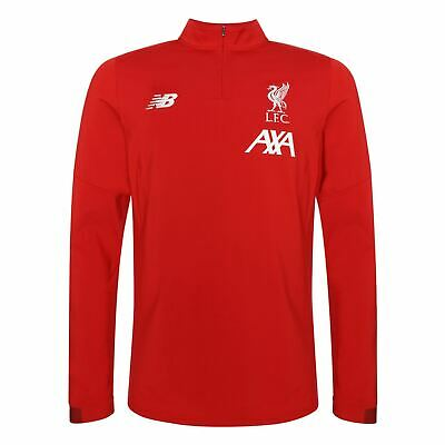 Liverpool FC Men Training Red On Pitch Midlayer Shirt 19/20 LFC Official