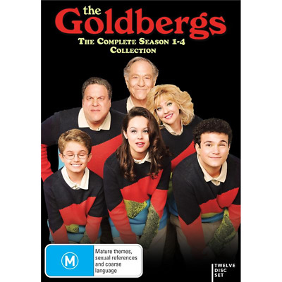 The Goldbergs COMPLETE Season 1-4 (DVD, 12-Disc Set) NEW