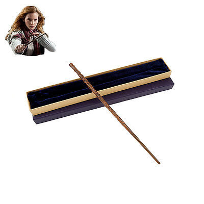 Metal Core Hermione Granger Magic Wand/ Harry Potter Magical Wand Gift Box Pack