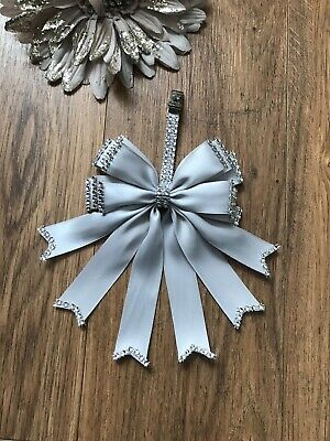 Pram charm girl romany bling 2 Tone Grey clip beautiful baby present