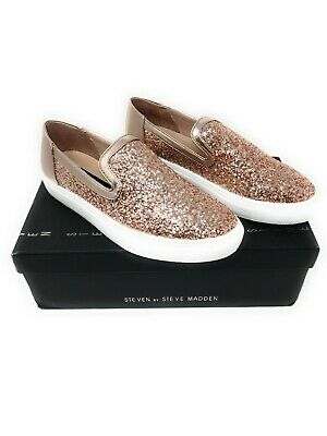 743c7ec3bfd STEVEN BY STEVE madden rose gold sneakers, size 7.5, brand new ...