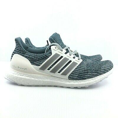 b13f4972d New Adidas Ultraboost PARLEY Running Shoes WHITE SILVER CM8272 LTD For Men s