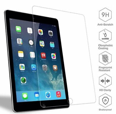2x Tempered Glass Screen Protector for iPad 2 3 4 5 6Pro Air Mini iPhone XS Lot