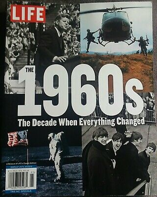"LIFE Magazine ""THE 1960's"" ~ The Decade When Everything Changed ~ Beatles ~ NEW"