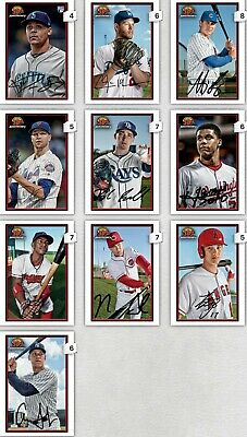 Topps Bunt Bowman 30th Anniversary Complete Base Set Of 10 Digital Cards