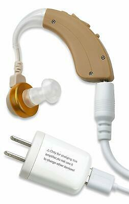 MEDca NewEar Digital Hearing Behind Ear Noise Sound Amplifier Rechargeable - BTE