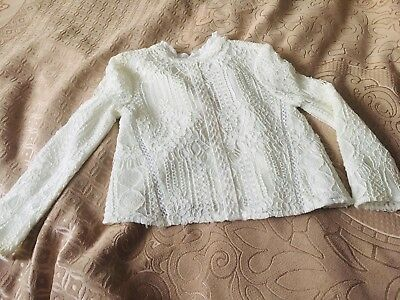 girls river island White Colour Blouse 3 years