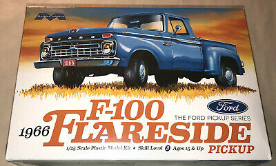Moebius 1966 Ford F-100 Flareside Pickup 1:25 scale model kit new 1232