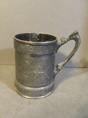 Antique Victorian Reed Barton 1045 Silverplate Hollowware Child Cup Not Engraved