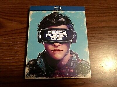 Ready Player One (Blu-ray + DVD Disc, 2018) Slipcover Walmart Exclusive