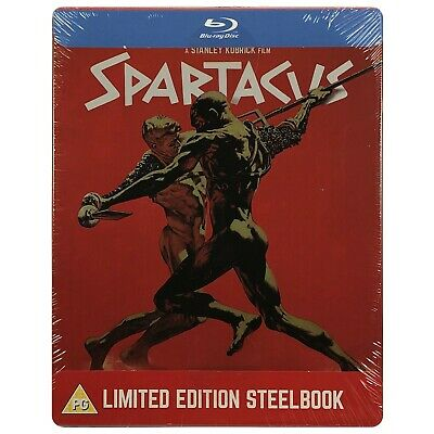 Spartacus Steelbook - UK Exclusive Limited Edition Blu-Ray