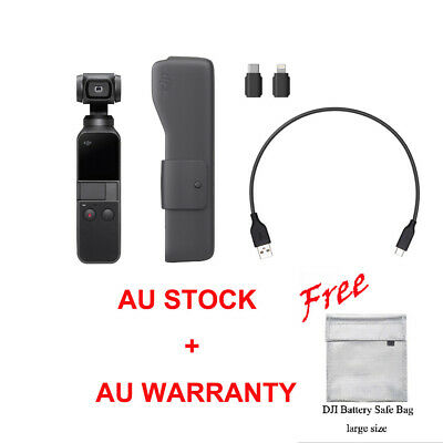Genuine DJI OSMO POCKET Handheld Stabilized Action Camera 3 Axis 4K 60fps