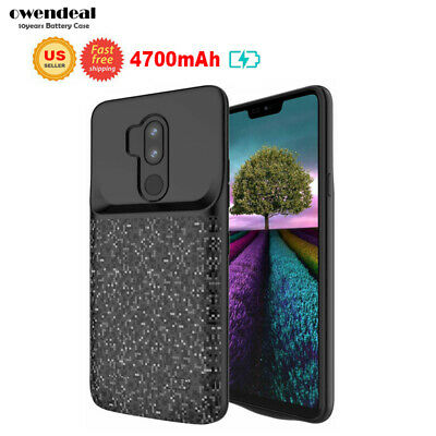 4700mAh Battery Charging Case Cover Power Bank For LG G7 ThinQ External Backup