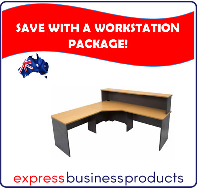 Rapid Worker Reception Workstation Package - Assorted Colours and Sizes