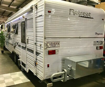 2008 Retreat Hayman 21' Caravan, Queen Bed, Air, Full Ensuite,Solar, Battery