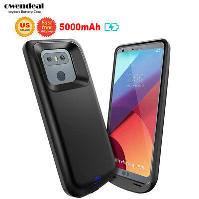 5000mAh Battery Charging Case Power Bank Phone Cover For LG G6 Portable Backup