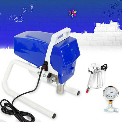 1050W High Pressure Airless Wall Paint Sprayer Spray Gun TP-395 Spraying Machine