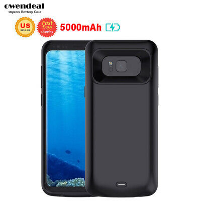 Rechargeable Power Bank Battery Case For Samsung Galaxy S8 SM-G950U Charger