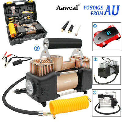 Portable 12V Air Compressor Tyre Deflator Inflator Pump 4WD 4x4 Car Truck AU