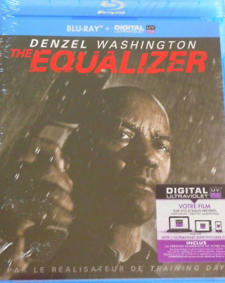 Blu Ray - The Equalizer / Denzel Washington, Columbia, Sony