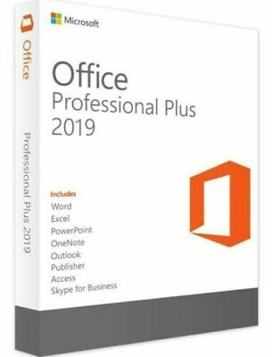 Microsoft Office 2019 Professional Plus For Windows Product Key License