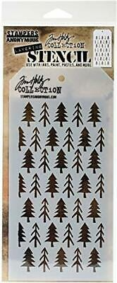 Stampers Anonymous THS088 Tim Holtz Layered Stencil 4.125X8.5-Direction