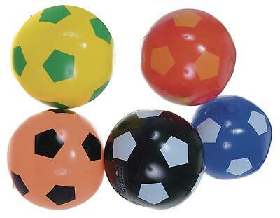 24 Inflatable Coloured Footballs 55cm