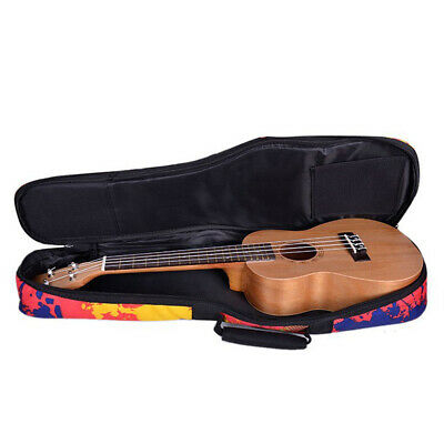 National Hawaiian Ukulele Bag Ukulele Backpack Case (Soprano, Concert,Tenor)