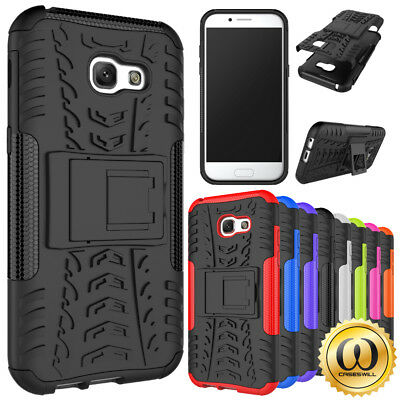 For Samsung Galaxy A70 A50 A40 A30 A20 A10 M20 Shockproof Armor Stand Cover Case